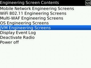Tampilan Engineering Screen